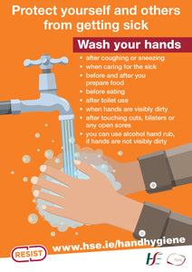 Covid-19 Hand Hygiene Poster