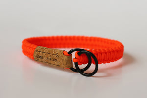 Orange Slip Collar