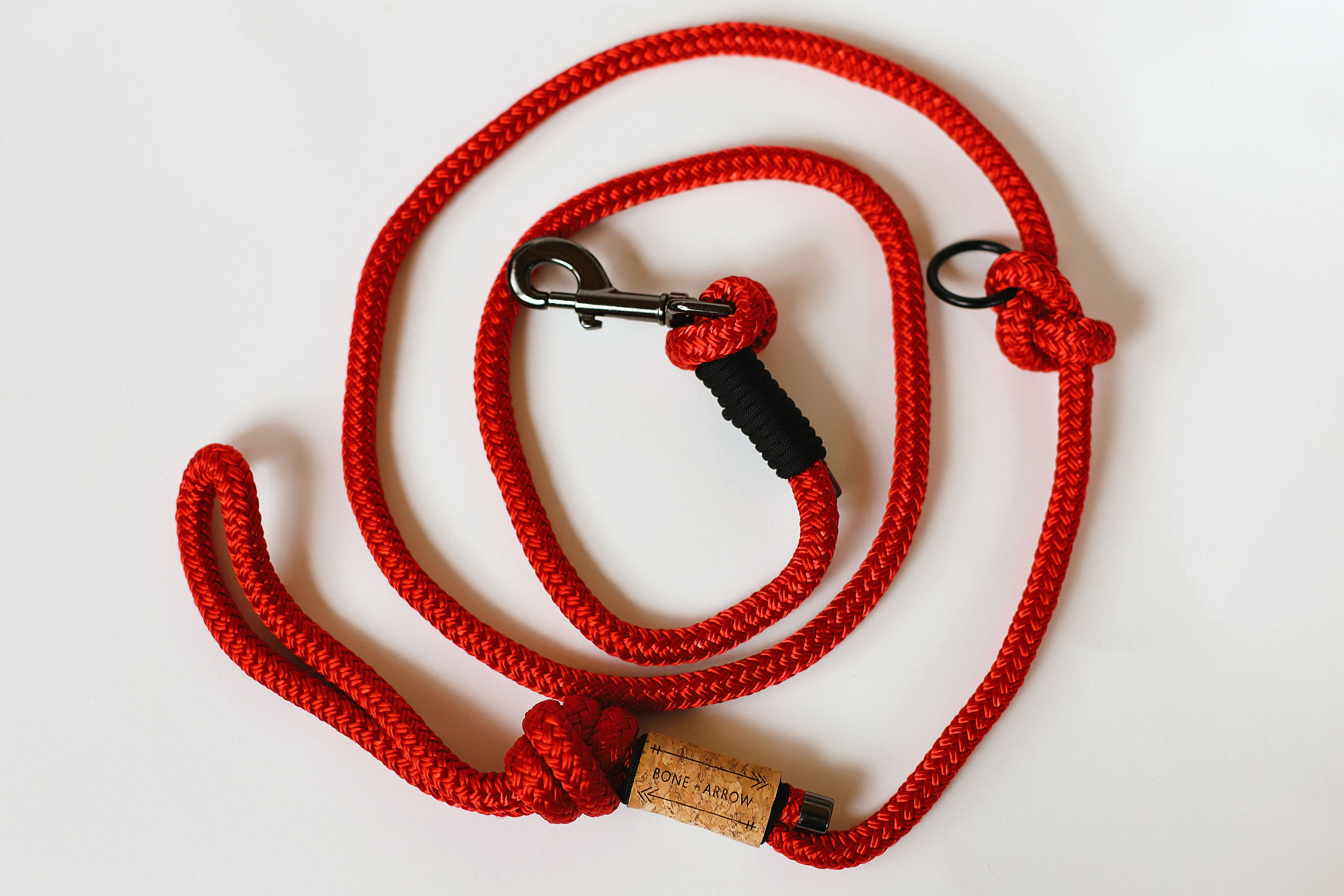 Red Rope Leash