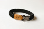 Reflective Black Clip Collar