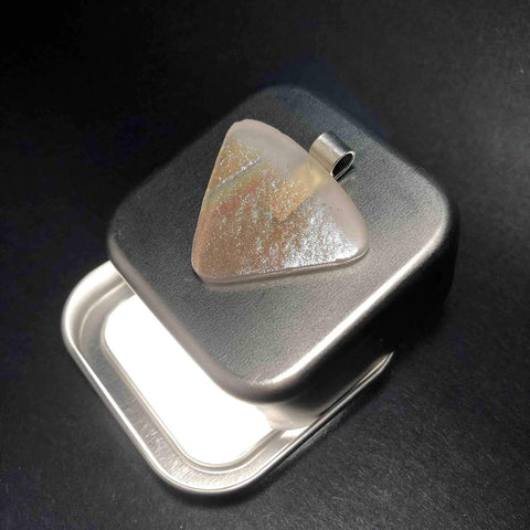 Nude Pendant as Guitar Plectrum