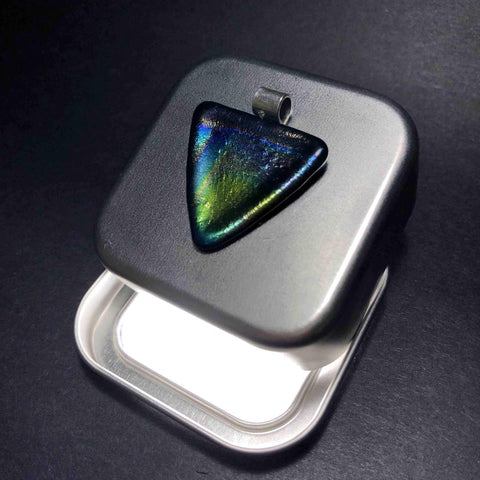 Rainbow Pendant as Guitar Plectrum