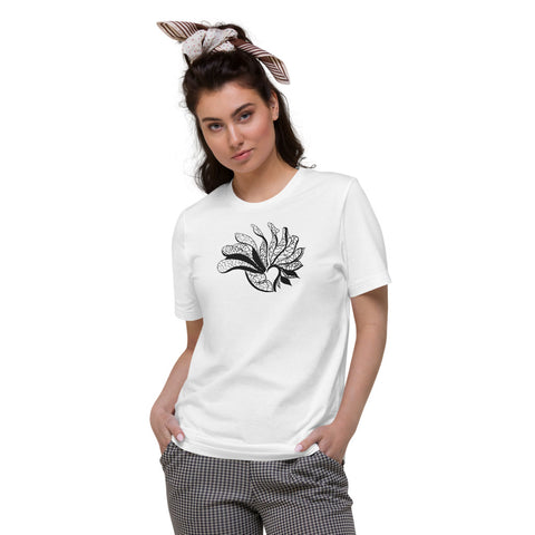 Waves - Unisex Organic Cotton T-Shirt