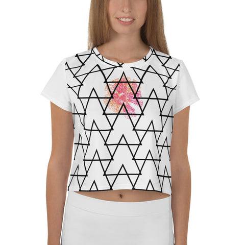 Waves collection Crop Tee