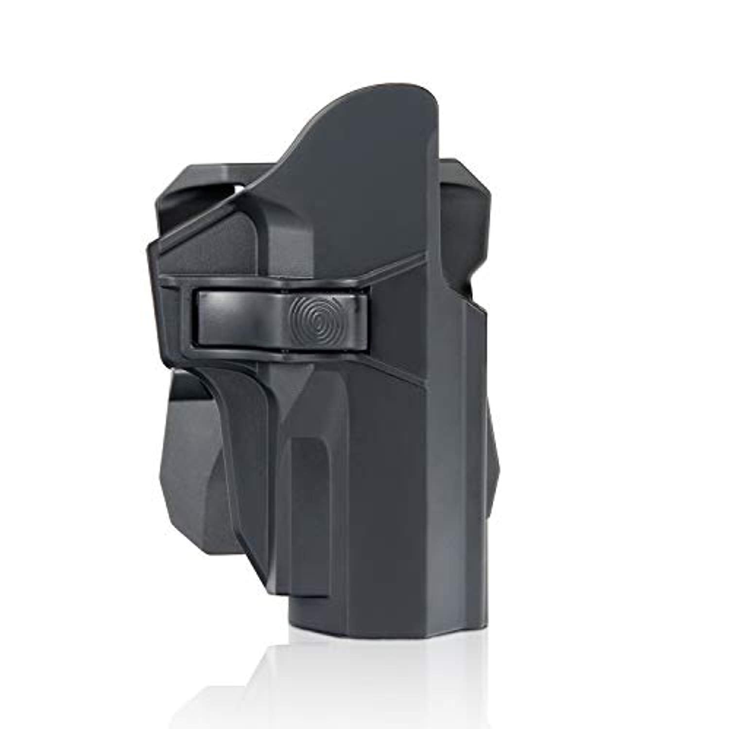 efluky Sig P226 P227 P228 P229 Holster with Two Options, 360° Auto-Adjusting Cant Polymer Trigger Release Tactical Pistol Holster, RH-Black