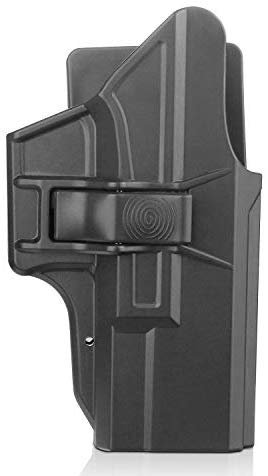 efluky Concealment Holster fits for Glock 19 19X 23 32 45 (Gen1-5), Trigger Release Adjustable Cant, Right-Handed, Black