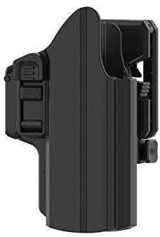 efluky Universal OWB Holster fits Glock 17 19 19X 45, S&W M&P Compact, S&W M&P 9MM, H&K USP, Springfield XD, Beretta 92fs, Sig P320 Full Size Pistols, 360° Adjusting Cant, RH