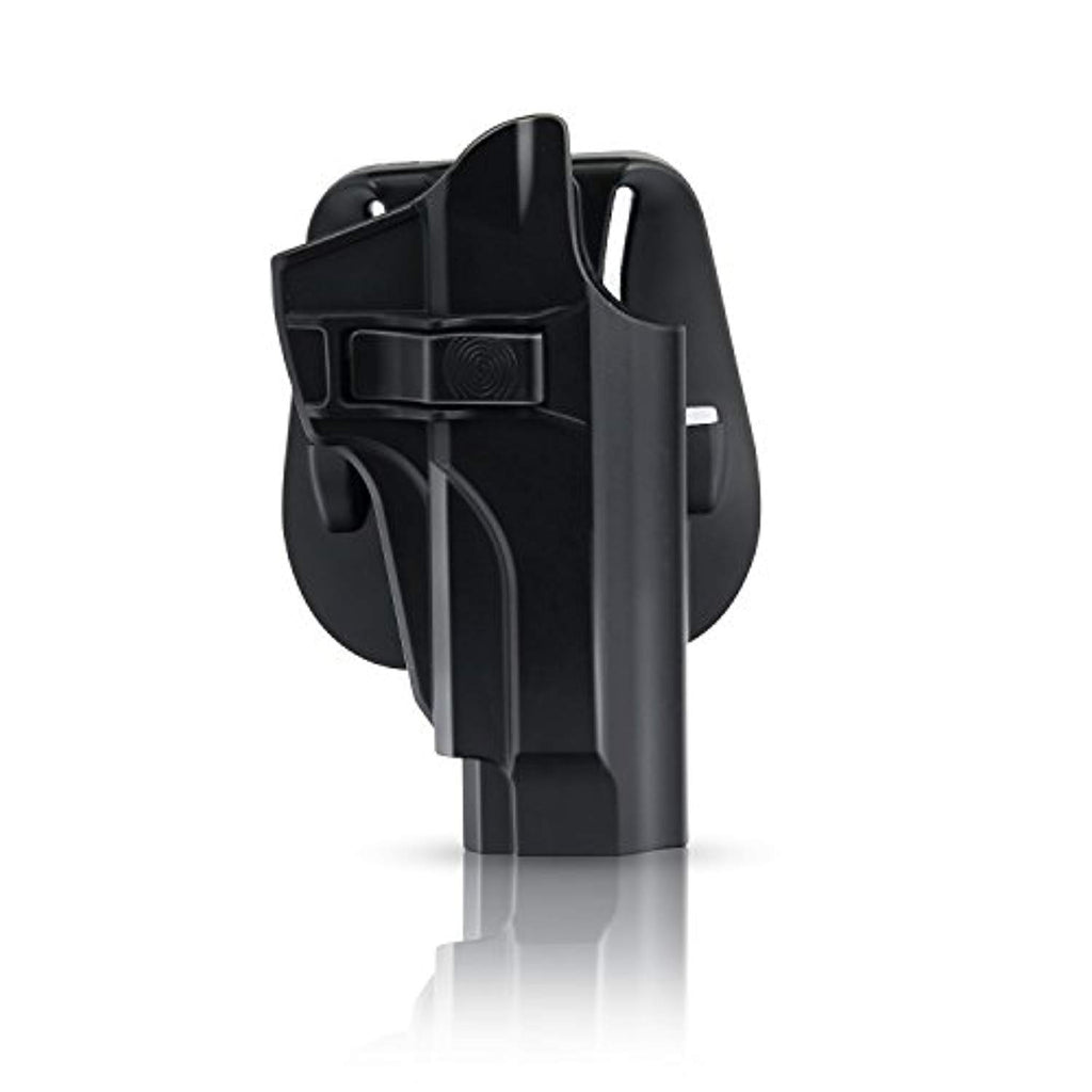 efluky Beretta 92 92FS M9 M922 Holster, Polymer Tactical OWB Concealed Holster with Trigger Release Adjustable Cant for Beretta M9 M922 92 92FS, RH Carry