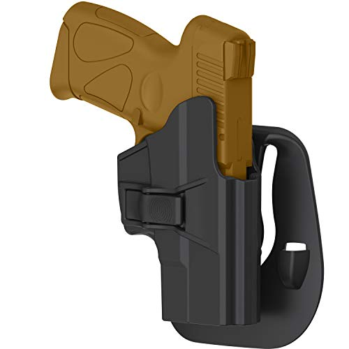 efluky Taurus Millennium G2 G2C Holster for PT111 PT132 PT138 PT140 PT145 PT745 (not pro) with Trigger Release Adjustable Cant, OWB Right-Handed Carry Holster