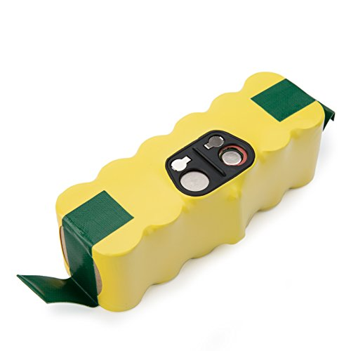efluky 4000mAh Ni-MH Replacement Battery for iRobot Roomba 500,600,700,800&900 Series 500 510 530 531 532 535 536 540 550 560 562 570 580 595 600 620 630 650 660 700 760 770 780 790 800 870 880(Blue)
