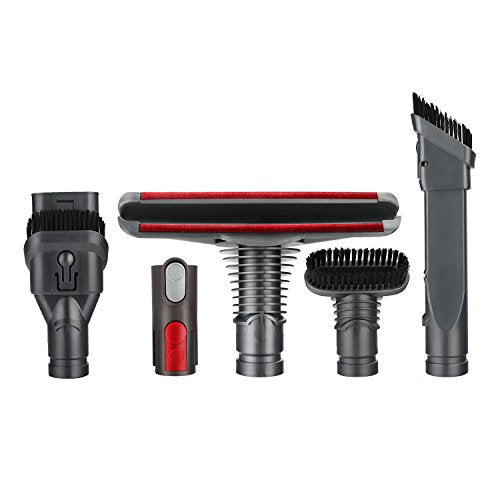 efluky Dyson Replacement Parts - Replacement Attachments Tools Kit for Dyson V6 V7 V8 V10 DC24 DC33 DC35 DC39 DC44 DC58 DC59 DC62 DC74, Dyson Cordless Vacuum Accessories(a Set of 8)