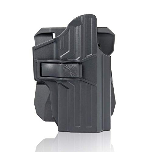 efluky Sig P320 Holster, P320 Compact /P320 RX Compact/X Carry/ P320 X Series Holster with 360 Degrees Adjustment Cant, Trigger Release Tactical Pistol Holster