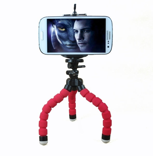 Hot Mobile Phone Holder Flexible Octopus Tripod Bracket for Mobile Phone Camera Selfie Stand Monopod Support Photo Remote Control