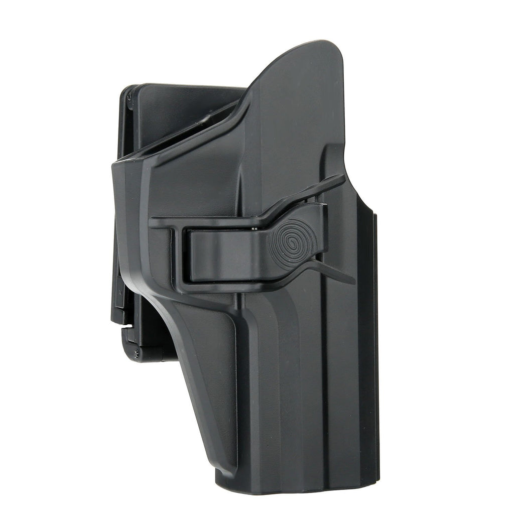 efluky H&K USP 9mm/.40 Full Size Holster, Polymer OWB Right Hand Belt Holster Injection Molded with Trigger Release Adjustable Cant for Heckler & Koch USP 9 mm/.40