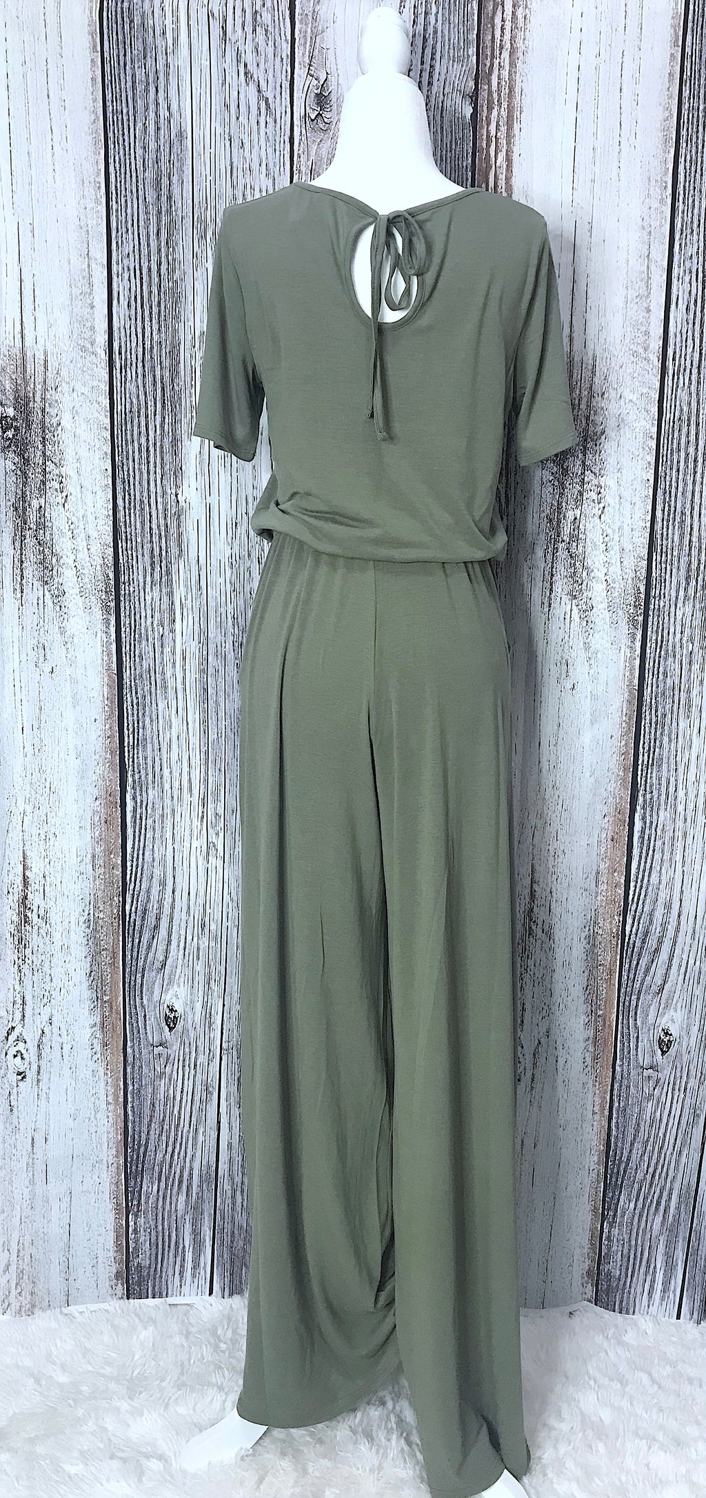 Lupe Short Sleeve Jumpsuit