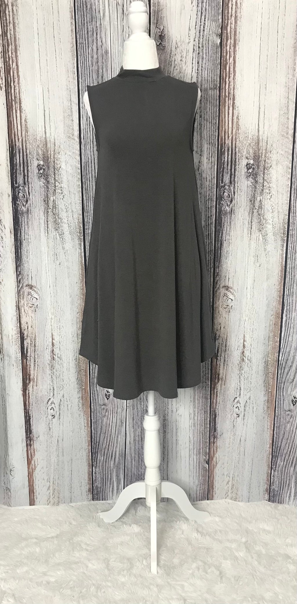 Karina Mock Neck Dress