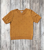 Ainsley Short Sleeve Sweater