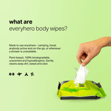Face + Body Wipes - 60CT (Value Pack of 3)