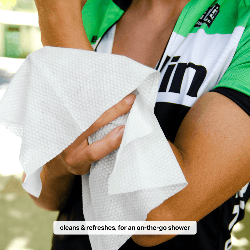 Cycling Wipes - 60CT Pack of 3
