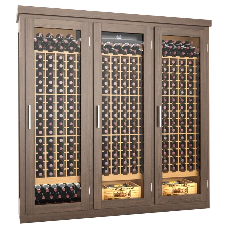 Sierra Wine Cabinet, Refrigerated Wine Cabinet, Climate Controlled Wine Cabinet