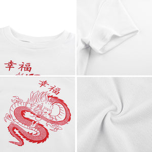 Top Chinese Dragon Print