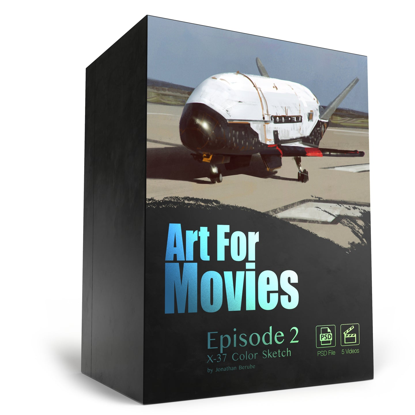 Art For Movies - Episode 2 X37-B Color Beat Sketch
