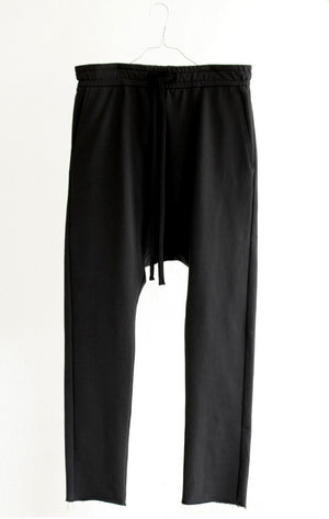 PANTS#01_SWEATPANT IN ORGANIC COTTON JERSEY