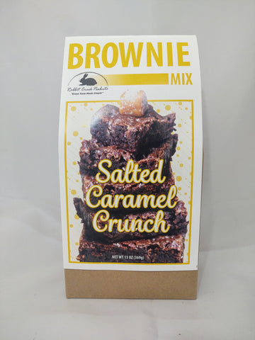 Salted Caramel Crunch Brownie Mix