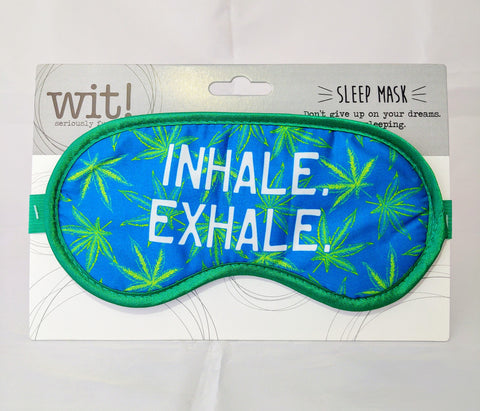 Inhale, Exhale Sleep Mask