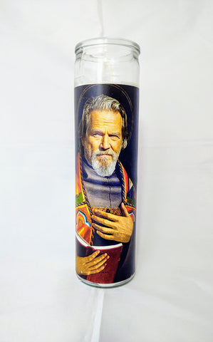The Dude Abides Candle