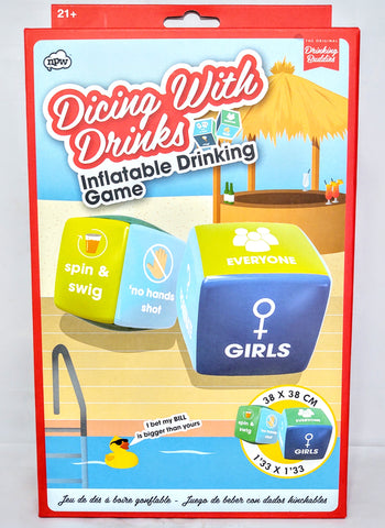 Dicing With Drinks: Inflatable Drinking Game