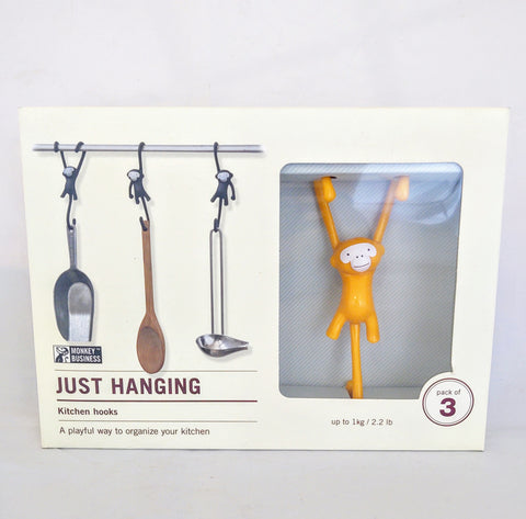 Monkey Business Kitchen Hooks