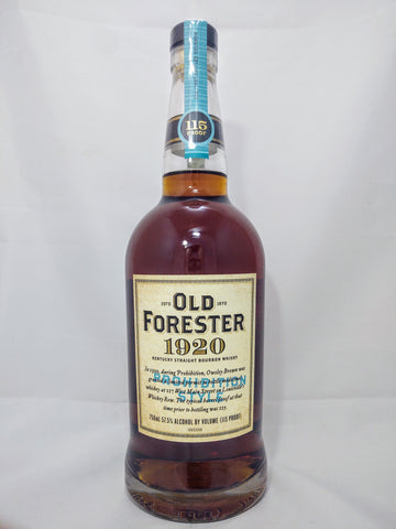Old Forester 1920 Prohibition Style - 750ml