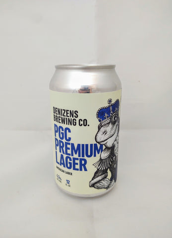 Denizens Brewing Co.'s PGC Premium Lager