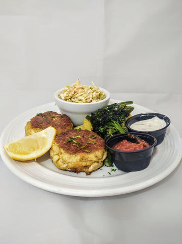 Cook and serve Maryland Crabcakes