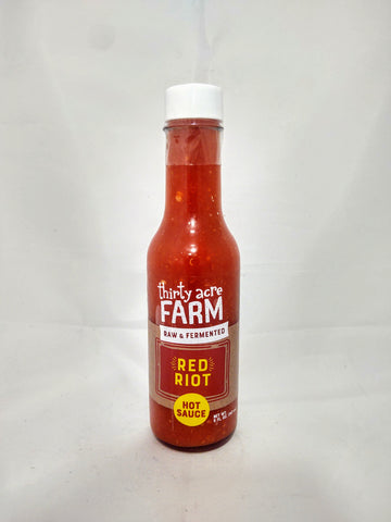 Thirty Acre Farm Red Riot Hot Sauce