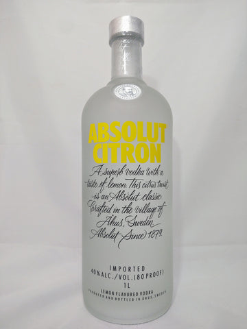 Absolut Citron - 1 Liter