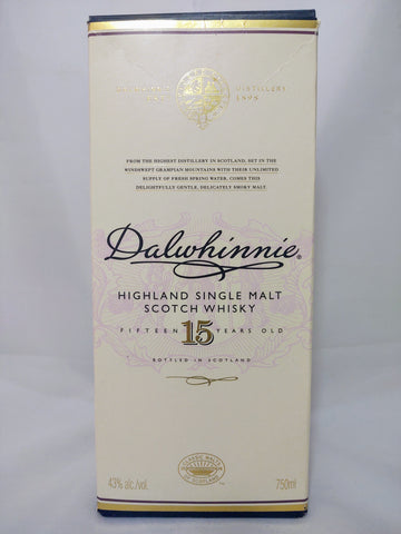 Dalwhinnie 15 Year Single Malt - 750ml