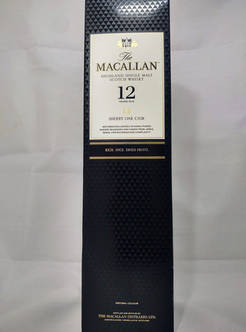 Macallan 12 Year Sherry Cask - 750 ml