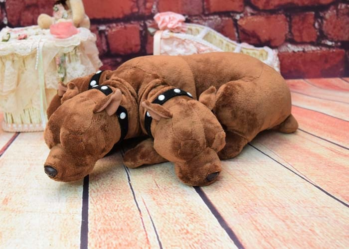 Universal Wizarding World Stuffed plush toy doll 3 Header Dog 35cm