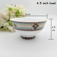 Load image into Gallery viewer, Plates Set Steak Dish Salad Bowl Bone China