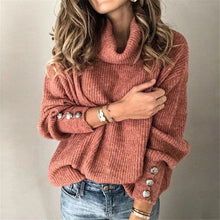 Load image into Gallery viewer, Autumn/winter 2019 women's hot style high-necked