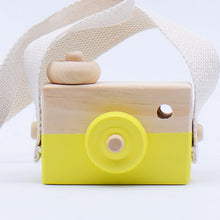 Load image into Gallery viewer, Cute Wooden Birthday Gifts Kids Handcraft Children Camera Decoration Photography Props Eco-friendly Toy