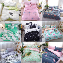 Load image into Gallery viewer, Bedding Sets Geometric Pattern Bed Sheet Children