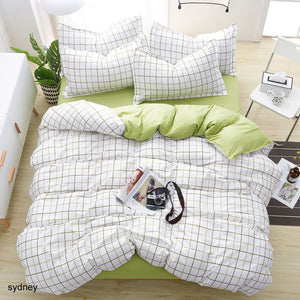 Bedding Sets Geometric Pattern Bed Sheet Children