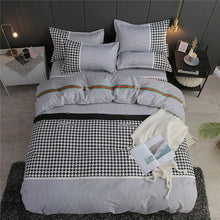 Load image into Gallery viewer, Colorful Bedding Set 5 Size Solid Color Bed Linings Duvet Pillowcases
