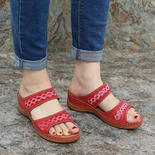 Load image into Gallery viewer, Shoes Woman Summer Comfortable Women Wedges Sandals