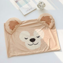 Load image into Gallery viewer, candice guo! cute plush toy cartoon sweet sleeping duffy shelliemay soft pillowcase pillow cover birthday Christmas gift 1pc