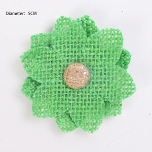 200Pcs/lot Non-Woven Felt Fabric Eco-friendly Round