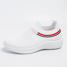 Load image into Gallery viewer, women's summer sneakers  Slip On Flat Shoes white  Loafers  women's